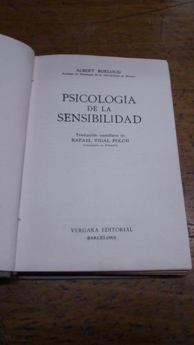 burloud - psicologia de la sensibilidad