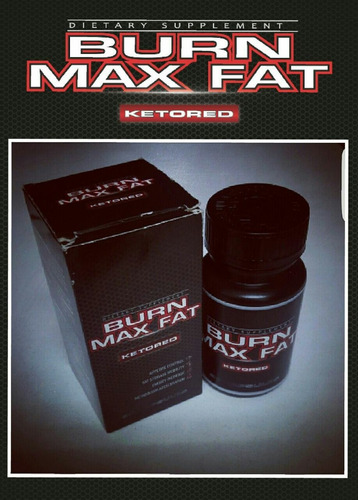 burn max fat ketored - quemador grasa - bajar peso adelgazar