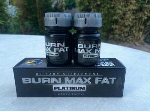 burn max fat platinum mejor quemador de grasa baja de peso