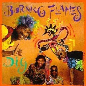 burning flames - dig   - reggae caribean music 1991