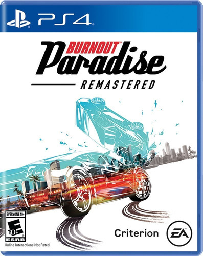 burnout paradise remastered ps4 fisico juego playstation 4