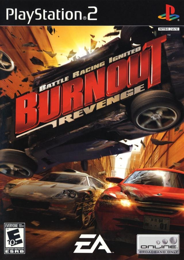 BURNOUT REVENGE (NTSC) (ISO) (PS2)