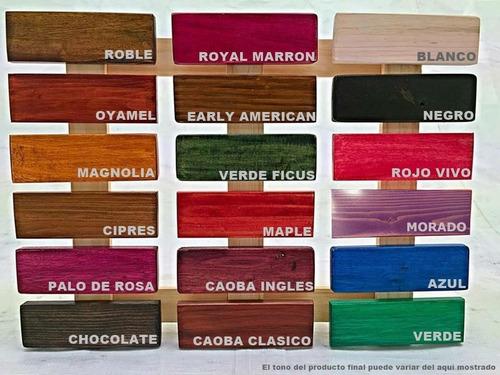 buro basico recamara madera tarima sustentable