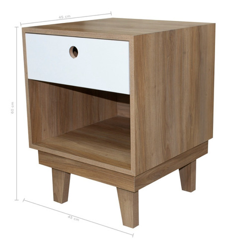 buro estonia madera - blanco envio gratis uchi