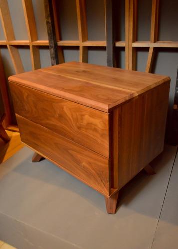 buró quadra madera solida 2 cajones, envió gratis