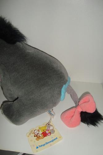 burrinho bisonho amigo poof disneyland 18cm ponta de estoque