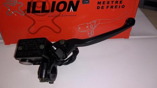 burrinho freio c/ manete cilindro mestre dafra speed 150
