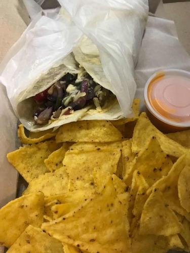 burritos y wraps party para evento o cumpleaños