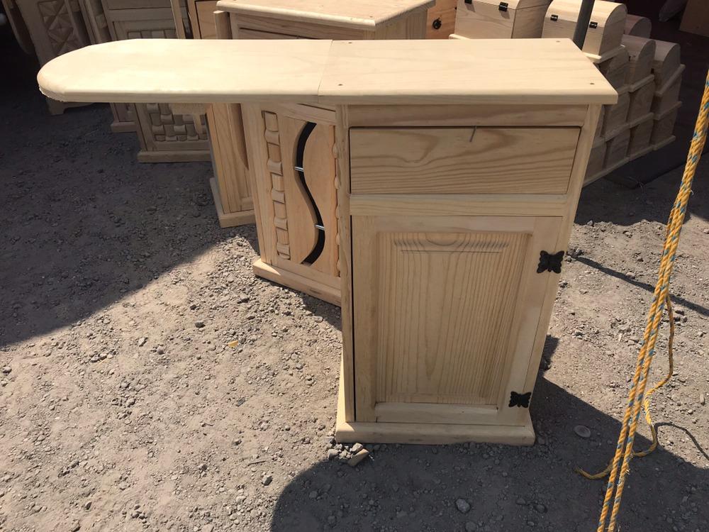 Burro de planchar con mueble de madera en mercado libre - Mueble tabla de planchar ikea ...