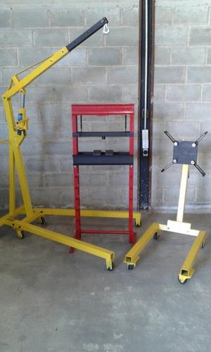 burro o soporte giratorio para armar motores