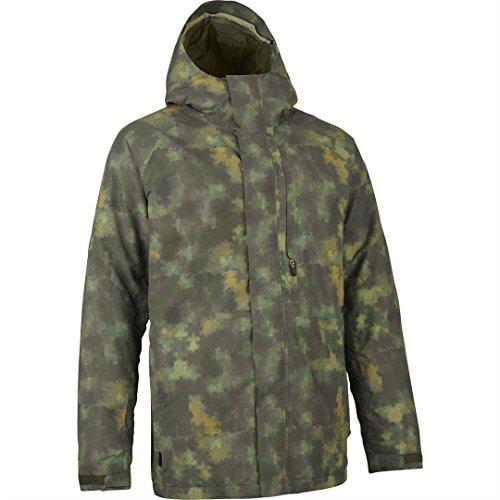 burton hilltop snowboard jacket hombre sz xl