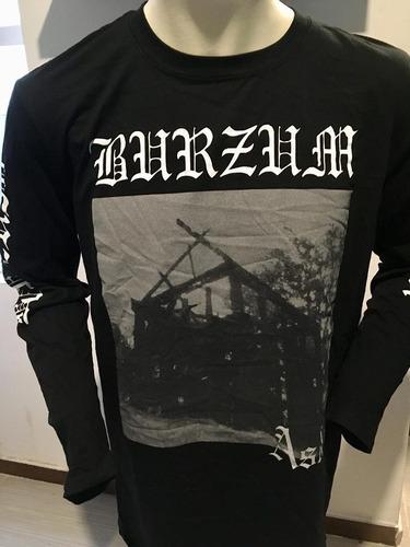 burzum aske long sleeve t-shirt merch official import