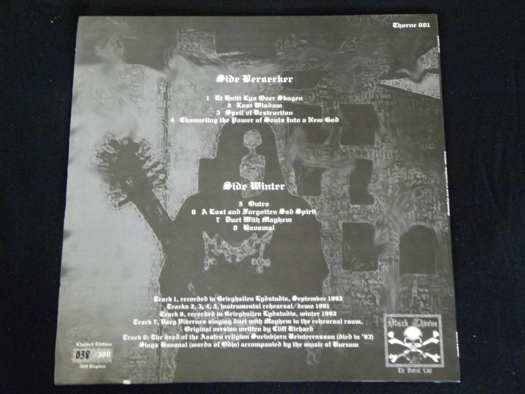 Burzum Unreleased Demos