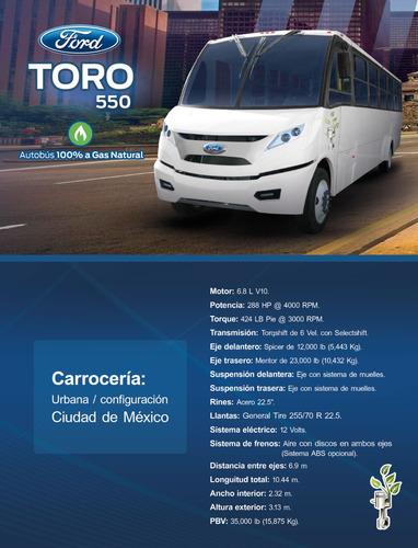 bus 550 gas natural 2017