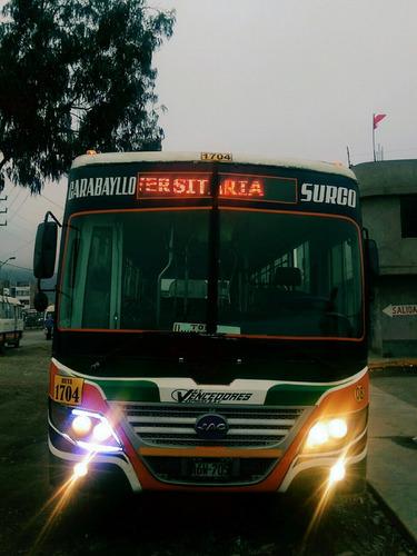 bus de transporte urbano en venta por ocasion