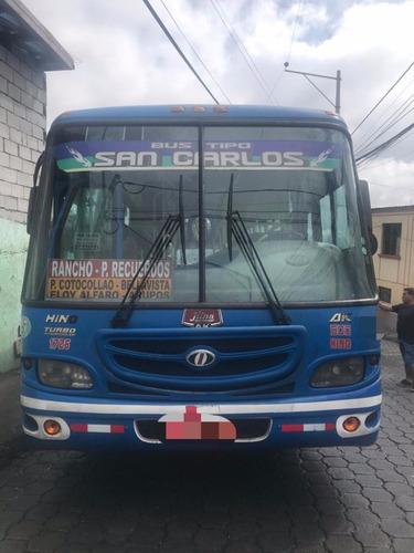 bus hino ak-2012 con derechos y acciones compañia san carlos