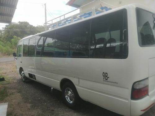 bus toyota coaster