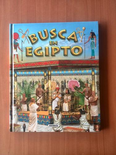 busca en egipto susaeta libro para niños