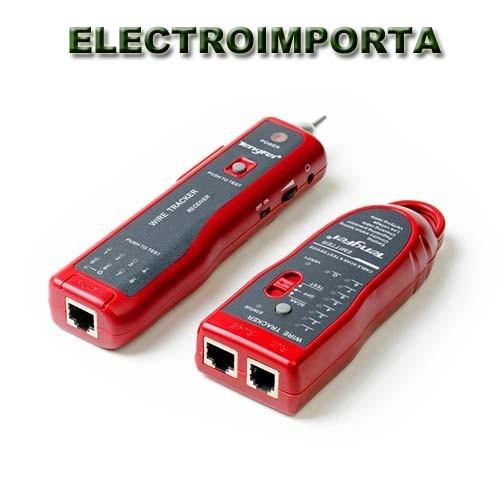 busca pares rj 45 11 tester red  - electroimporta -