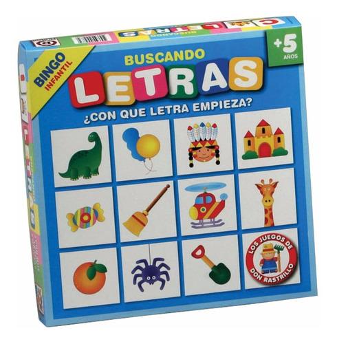 buscando letras bingo - don rastrillo ruibal - mundo manias