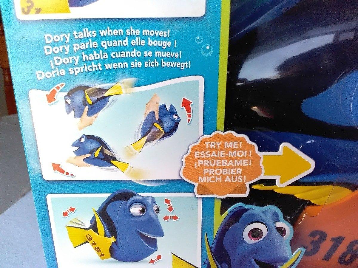 Buscando Nemo Amiga Dory Interactiva 40 Frases 10 Movimiento