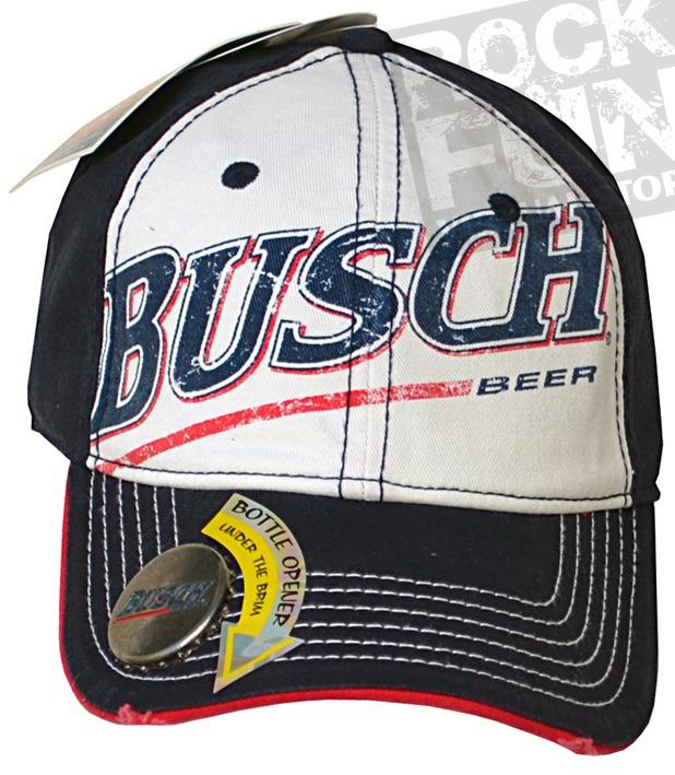 Busch Beer Gorra Con Destapador Importada 100% Original -   320.00 ... f52171c422b