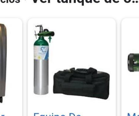 busco en venta o renta un tanque de oxígeno