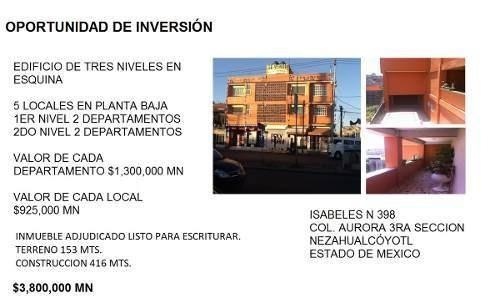 busco inversionistas!! rematamos edificio, urge!!