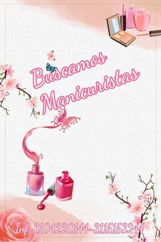 busco manicurista experta