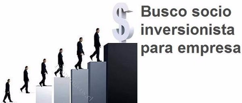 busco socio inversionista