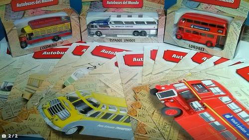 buses del mundo escala 1:72 coleccion del tiempo