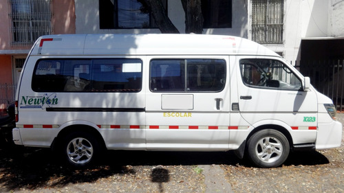 buseta escolar jinbei 2014 total comfort unico dueño