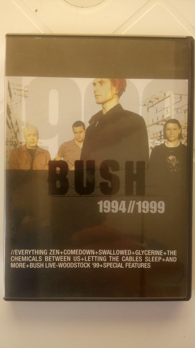 Bush Dvd 1994 - 1999 - Importado (show + Videos)