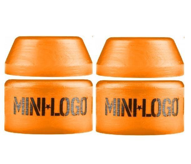 Bushing Mini Logo 94a Médio Laranja Amortecedor Skate R 6000 Em