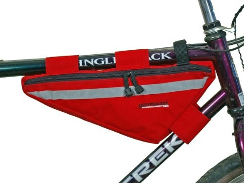 bushwhacker tahoe rojo  para marco de bicicleta tubo superio