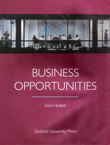 business opportunities oxford university vicki hollett