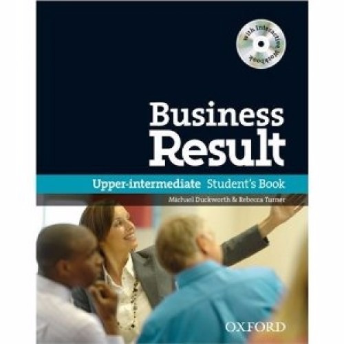 business result upper intermed.- student´s book oxford + cd