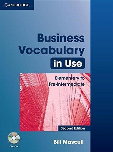 business vocabulary in use ele/pre with/key 2nd.ed cambridge