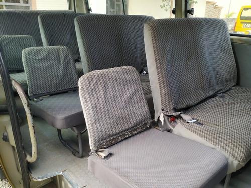 busito nissan urvan, 15 pasajeros, 2008, 9,550