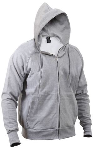 buso rothco termico thermal lined hooded sweatshirt