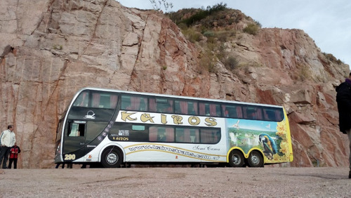 bus/omnibus doblepiso semicama 62 scania k3806x2 2009(unico)