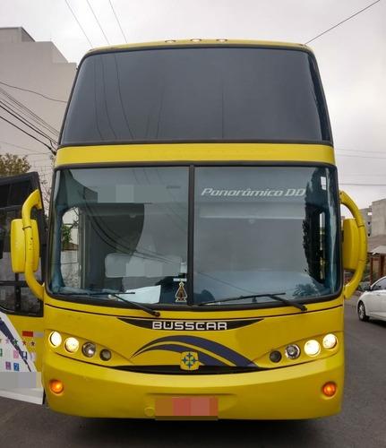 busscar dd panoramico ano 2004 scania k124 48 lug jm cod.711