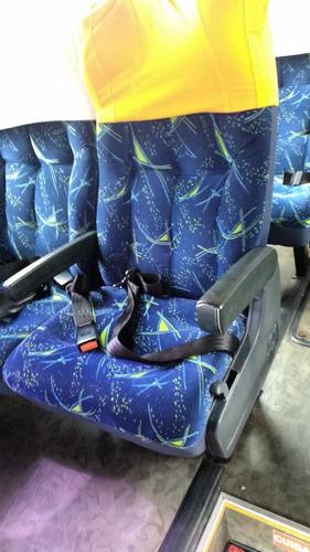 busscar jum buss 360 - scania k 124ib com 420cv 2001/2001