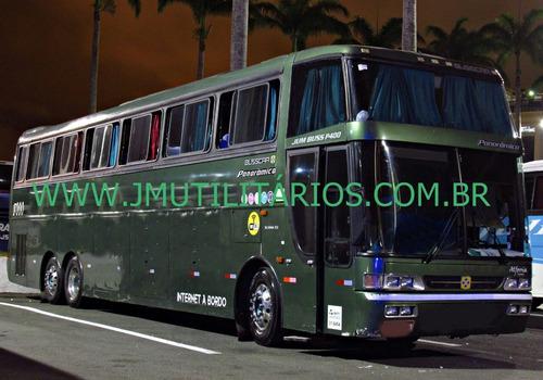 busscar p400 ld ano 1998 scania k113 rodoviario jm cod 229