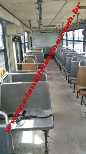 busscar urbanuss escolar c/44 lug. excelente oferta! ref.631