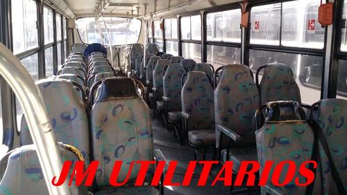 busscar urbanuss plus ano 2000 m.b 1721 escolar jm cod 505