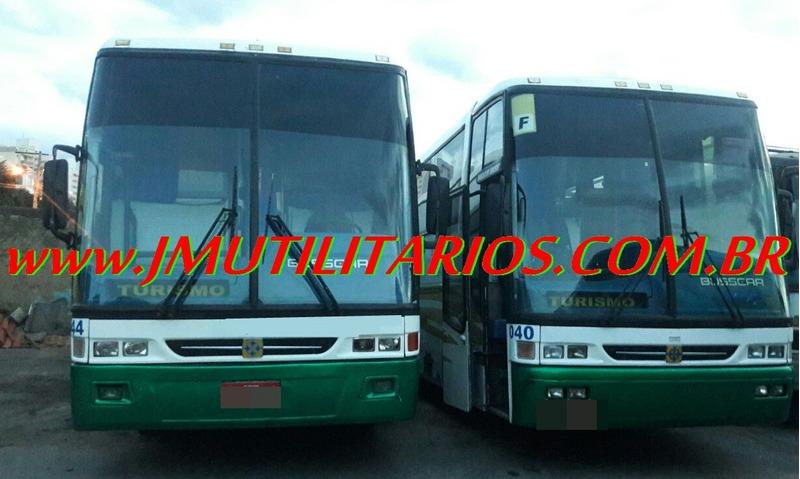 busscar vista buss ano 1999 o400 rsd 40 lg ar wc  jm cod.124