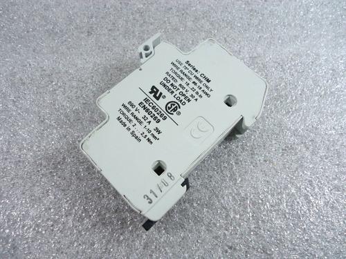 bussmann chm1d chm series 600v 30a modular fuse holder 10x38