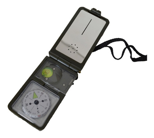 bussola 10 funções - lupa termometro higrometro nível pedern