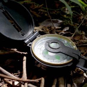 bússola nautika quest / camping / militar